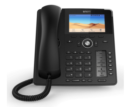 Snom D785 High-End Work IP Phone front view