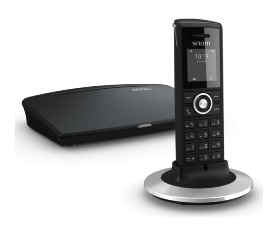 Snom M325 cordless IP phone and base combo kit M300 and M25 included
