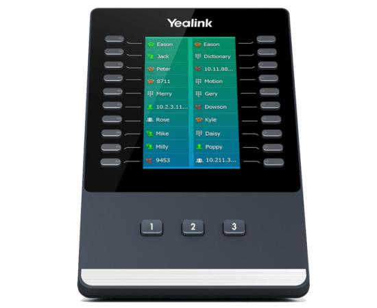 Yealink IP ex50 module front view