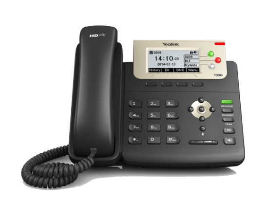 YeaLink T23G Basic Busienss IP Phone front view