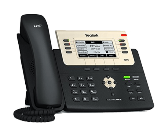 T27G ip office phone front left view
