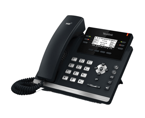 YeaLink T42S Mid-Range IP Phone right side view