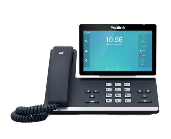 Yealink T56A IP Business High End IP Phone - front view