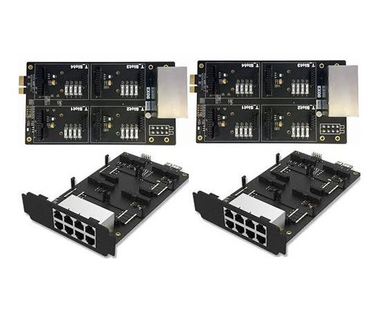 ex08 two modules - 16 analog ports