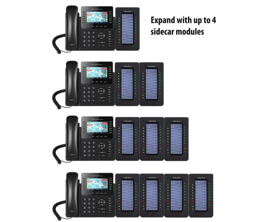expandable reception IP phone